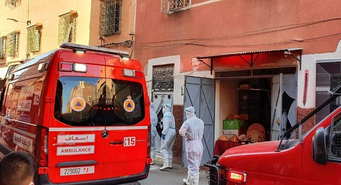 2160 إصابة جديدة و42 وفاة بفيروس كورونا في 24 ساعة الأخيرة بالمغرب