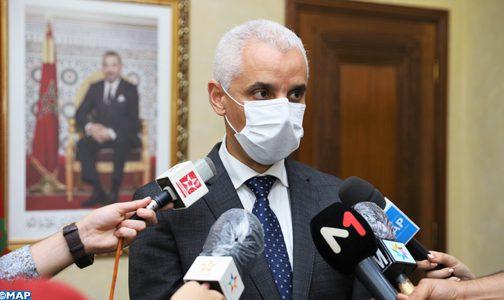 وزير الصحة يدعو المغاربة إلى الالتزام التام بالإجراءات الاحترازية خلال حملة التلقيح ضد كورونا