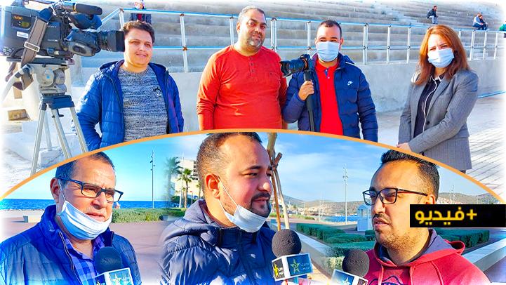"""قناة """"الأمازيغية"""" تسلط الضوء على تجربة عمل المصور الصحفي محمد العبوسي خلال فترة الطوارئ"""