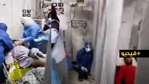 """مأساة.. فيديو يوثق """"صدمة"""" الأطر الطبية والتمريضية بسبب وفاة كل المرضى بكورونا داخل الإنعاش"""