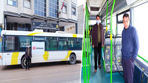 مجلس إقليم الدريوش يتسلم حافلة من مجلس اميان متروبول