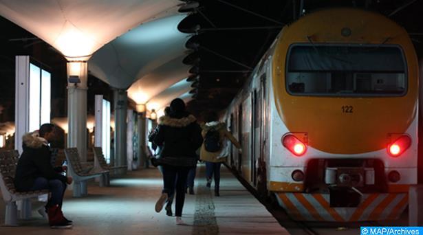 """""""اضطرابات"""" في حركة سير القطارات بسبب سوء الأحوال الجوية"""