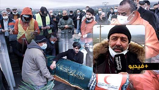 تشييع جثمان جمال أزواغ إلى مثواه الأخير في موكب جنائزي مهيب