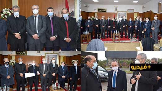 وزير العدل يشرف بالناظور على تسليم الأوسمة الملكية إلى المنعم عليهم بالسلك القضائي