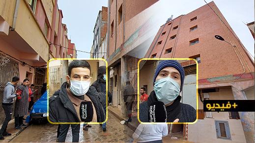 سكان بحي لعراصي يحتجون ضد عمارة مشبوهة