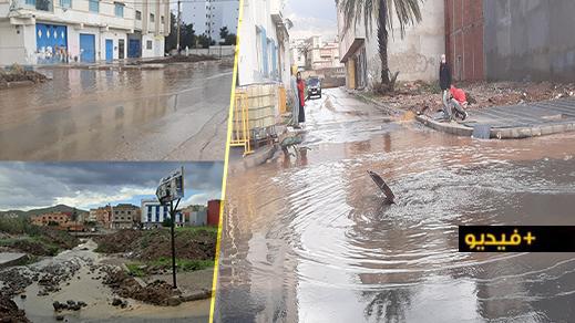 """التساقطات المطرية تكشف """"عورة"""" البنية التحتية بالناظور والسكان يتخوفون من تكرار الكوارث"""