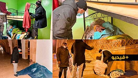 باشا مدينة العروي يطلق حملة لإيواء المشردين والأشخاص بدون مأوى من موجة البرد القارس