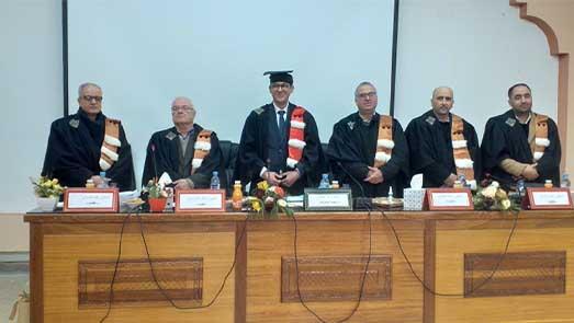 الإطار بالمندوبية الإقليمية لوزار الصحة بالناظور عبد الصمد المجوطي يحصل على لقب دكتور في القانون العام