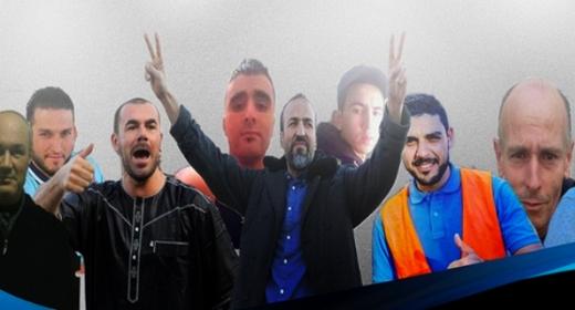 """بعد إضراب جزئي.. معتقلو """"حراك الريف"""" بسجن طنجة يضربون عن الطعام لهذا السبب"""