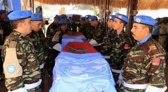 الأمم المتحدة تدين مقتل جندي مغربي في إفريقيا الوسطى
