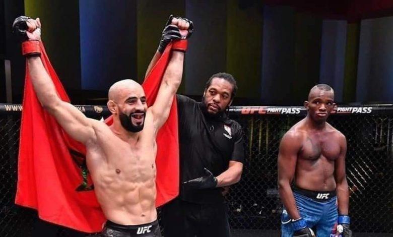 """منظمة """"UFC"""" لفنون القتال """"تطرد"""" المغربي أبو زعيتر لهذا السبب"""