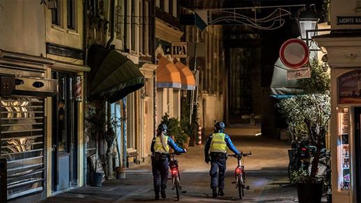 لأول مرة منذ الحرب العاليمة.. هولندا تطبق حظر التجوال
