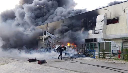 حريق مهول في معمل للنسيج بطنجة يخلف إصابات وخسائر مادية فادحة