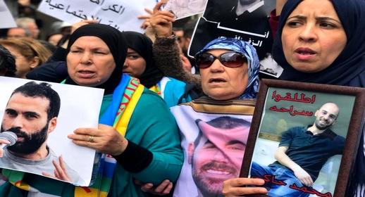 """حزب """"النهج الديمقراطي"""" يطالب بالاستجابة لمطالب معتقلي """"حراك الريف"""" المضربين عن الطعام"""