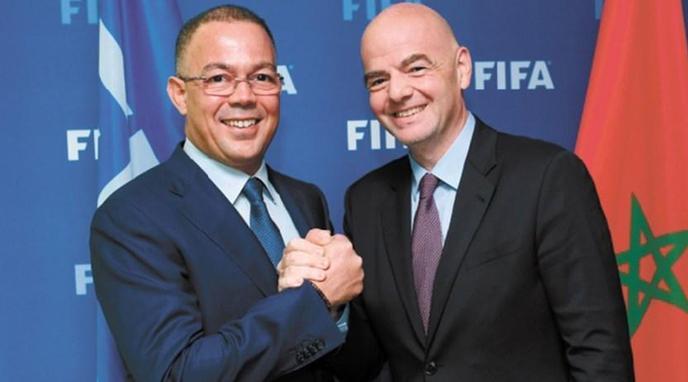 """رفض طلب الجزائري زطشي.. """"فيفا"""" يقبل رسميا ترشح لقجع إلى عضوية مجلسه"""