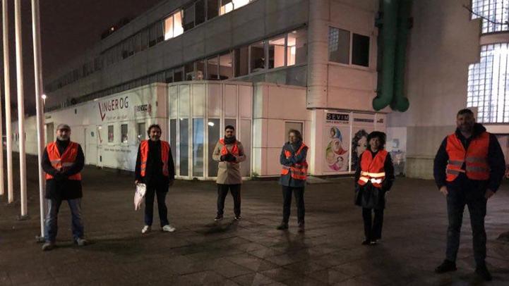 مسجد الهدى بأمستردام يقود حملة من أجل وقف أعمال العنف بهولندا