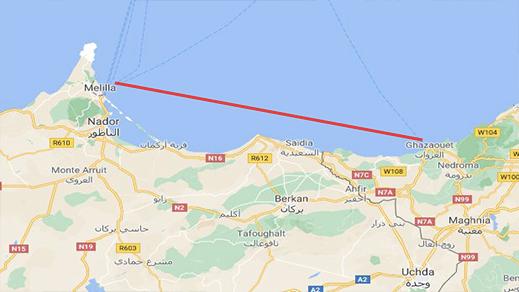 رئيس رجال الأعمال بمليلية يؤكد تقدم المباحثات مع الجزائر حول الخط البحر بين الغزوات والمدينة المحتلة