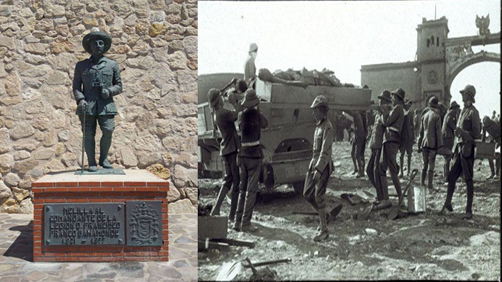 حزب اليمين بمليلية يطالب ببناء نصب تذكاري لتكريم الجيوش التي قاتلت الريفيين