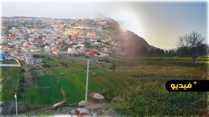 """شاهدوا.. فيديو يكشف جمالية منطقة """"ماري واري"""" بجماعة بني شيكر"""