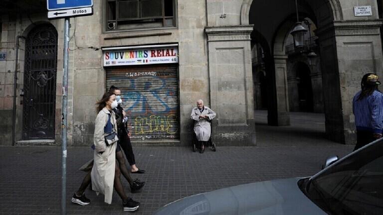 كورونا إسبانيا.. أعلى حصيلة وفيات خلال آخر 8 شهور