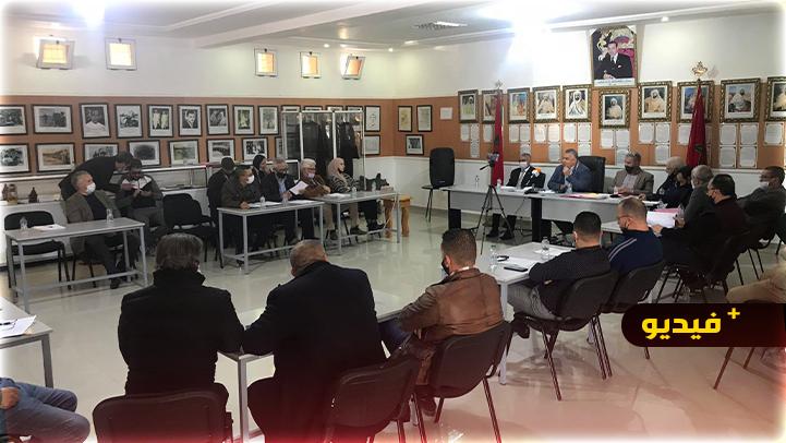 مجلس مدينة بني انصار يصادق بالإجماع على نقاط جدول أعمال دورة فبراير