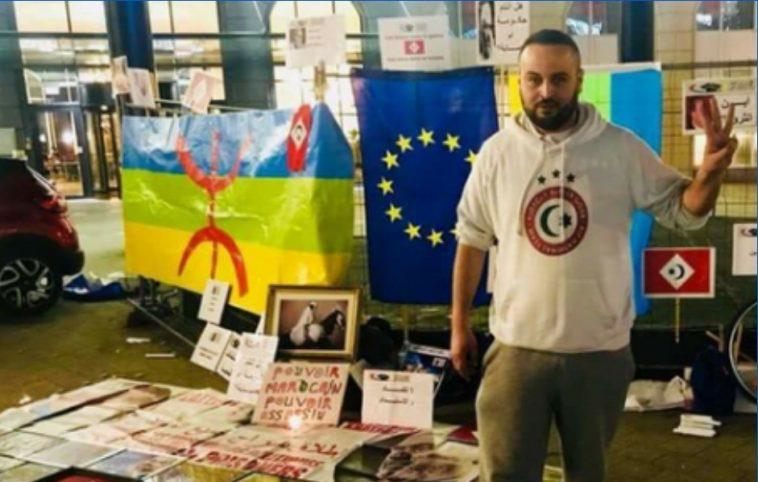 """القضاء يتابع وافي قجوع الناشط بـ""""حراك الريف"""" في أوروبا بتهمة تهريب المخدرات"""