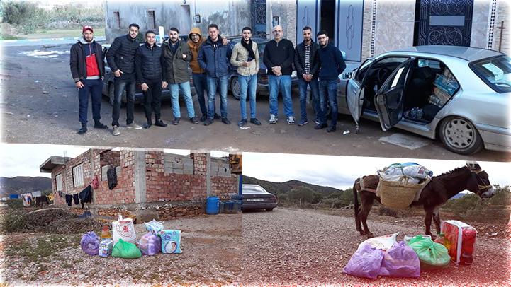 """جمعية الأمل للتنمية المستدامة توصل مساعدات لمجموعة من القرى """"النائية"""" بالريف"""