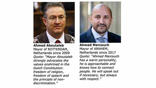 """ترشيح الريفيين أبو طالب ومركوش لجائزة """"عمدة العام"""" على المستوى العالمي"""