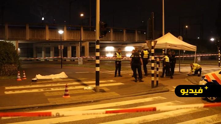 فيديو.. ريفية تتورط في جريمة قتل تاجر مخدرات مغربي رميا بالرصاص
