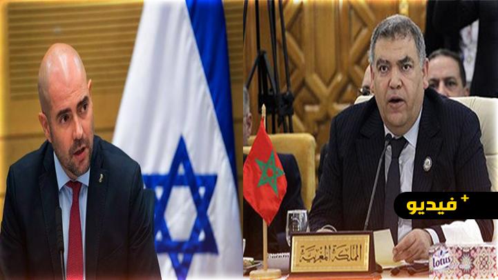 شاهدوا.. وزير الأمن الداخلي الإسرائيلي يجري مكالمة هاتفية مع عبد الوافي لفتيت بالدارجة المغربية