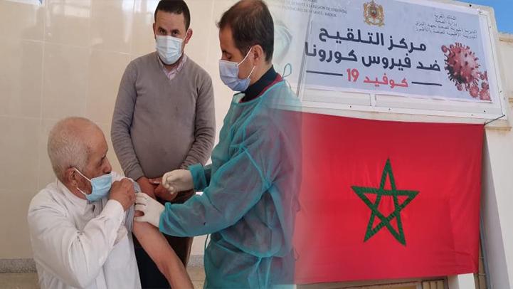 ساكنة اعزانن تستفيد من عملية تطعيم كبار السن ضد فيروس كورونا