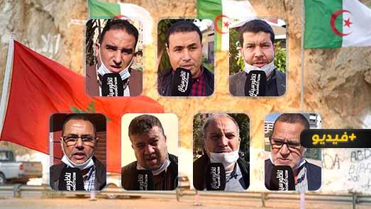 فعاليات ناظورية ترد على الإعلام الجزائري: مكانة ملك المغرب أفقدتكم صوابكم