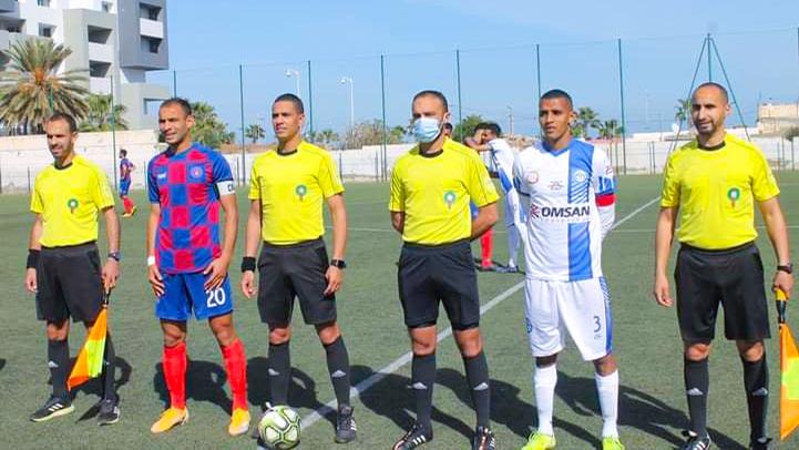 فتح الناظور لكرة القدم يحقق إنتصارا مهما على المتصدر جمعية المنصورية