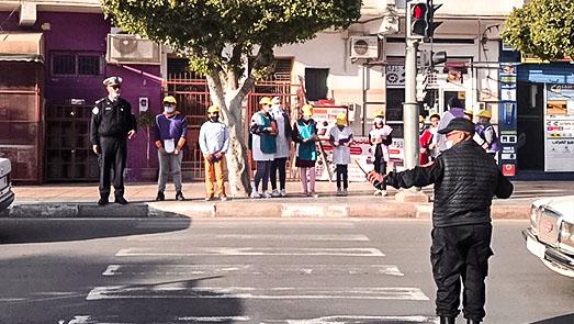مؤسسة المعبودي تخلد اليوم الوطني للسلامة الطرقية بتنسيق مع مفوضية أمن أزغنغان