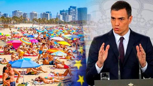 رئيس الحكومة الإسبانية يكشف موعد فتح حدود بلاده في وجه السياح المغاربة