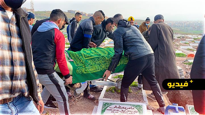 شاهدوا.. حزن ودموع في جنازة الطالبة ضحية حادثة السير بالناظور