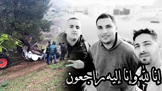 حادث سير مروع يودي بحياة الطاقم الإعلامي لمنافس فتح الناظور