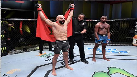 منظمة UFC تتراجع عن توقيف عثمان أبو زعيتر