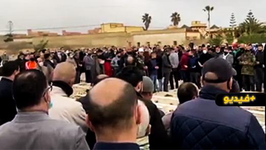 جنازة مهيبة لوالدة نقيب المحامين عبد القادر البنيحياتي