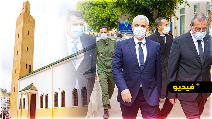 شاهدوا.. وزير الصحة يغادر مركزا صحيا مشيا على الأقدام ليؤدي صلاة الجمعة بالناظور