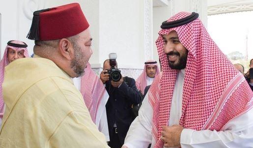الملك محمد السادس يبعث برقية إلى ولي العهد السعودي محمد بن سلمان