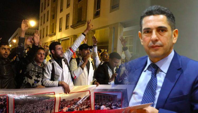 فيضانات واحتجاجات تحاصر الناطق الرسمي باسم الحكومة سعيد أمزازي