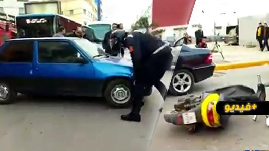 نقل شخص إلى المستشفى الحسني بعدما صدمته سيارة بالناظور