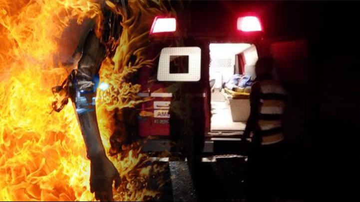 أب يضرم النار في  جسد ابنته لإدمانها المسلسلات التركية