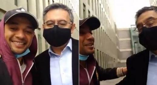 تفاصيل اعتقال شاب مغربي رفقة رئيس برشلونة السابق