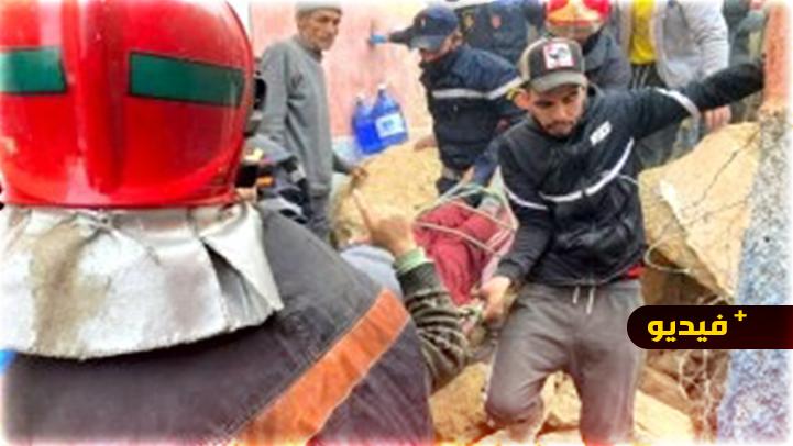 مأساة.. وفاة أم ونجاة 3 أبنائها بأعجوبة في انهيار منزلهم بحي المقاومة