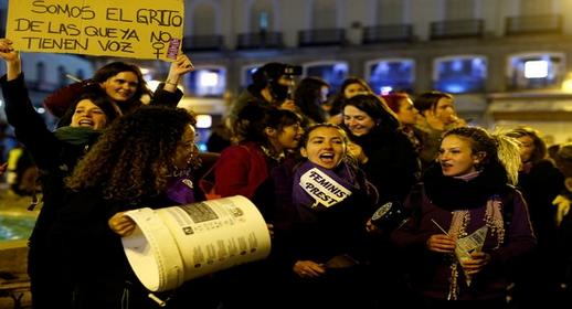 إسبانيا تعلن المنع في وجه تظاهرات اليوم العالمي للمرأة
