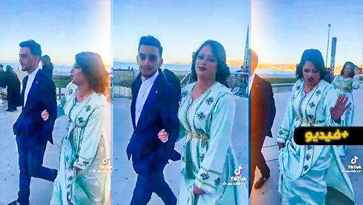 فيديو ساخر.. شابة مغربية تنظم مظاهرة للسماح بإقامة الأعراس