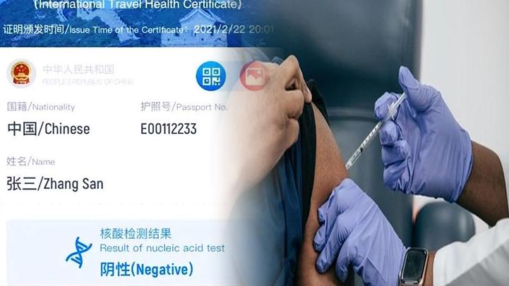 شاهدوا.. أول جواز سفر خاص بالملقحين ضد فيروس كورونا