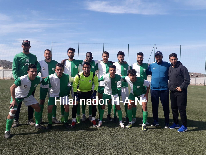 الهلال الرياضي الناظوري لكرة القدم يعود بفوز مهم من ايث بوعياش ويواصل سلسلة الانتصارات